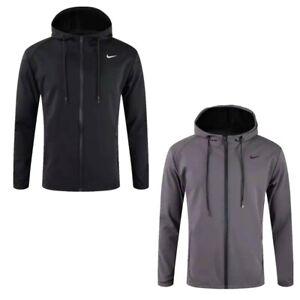 Mens Nike Hoodies Zipper Jacket Coat Sports Running Football Sportswear