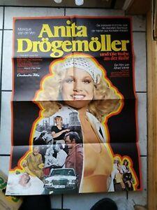Anita Drögemöller und Die Ruhe- Filmaushangplakat  ca. 84x 65 cm  -original