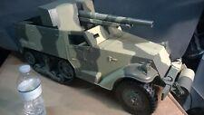 Gi Joe 1/6 scale Tank Destroyer Half Track WWII USMC M3 vehicle by Hasbro