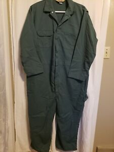 Vintage JC Penney BIG MAC Coveralls Size 2XL Sage Green Made In USA