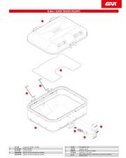 Givi Z7716-46R Fondo Alluminio Per DLM46 TREKKER DOLOMITI