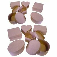 Set of 12 Paper Mache Boxes  7070-12
