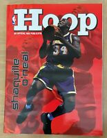 VINTAGE 1999-2000 NBA GRIZZLIES @ LAKERS BASKETBALL PROGRAM - FIRST GAME STAPLES