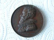 Malherbe, Francois de 1815  Paris Bronz Medaille  France Frankreich Müsiker