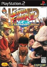 Used PS2 Hyper Street Fighter II: The Anniversary SONY PLAYSTATION JAPAN IMPORT