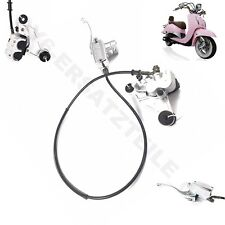 FRONT HYDRAULIC RETRO BRAKE ASSEMBLY COMPLETE GY6 SCOOTER ZNEN JMSTAR FIRENZE