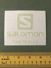 Salomon Decal/sticker Skiing green