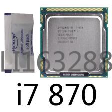 Intel Core i7-870 2.93GHz 8MB 2.5GT/s LGA1156 CPU Processor