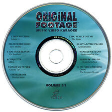 RARE, ORIGINAL FOOTAGE KARAOKE VOLUME 11 - OFV-11 VCD - OUT OF PRINT!!!
