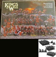 Kings of War MGKWA01 Forces of the Abyss Abyssal Army Starter Force Set Demons
