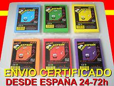 Lote 6 Cococrash ORIGINALES de Evaland. COCO-CRASH. Puzzle 3D Clásico A estrenar