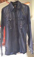 Roar brand Long Sleeved Button Down Shirt size M