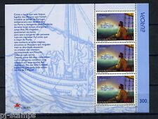 Europa CEPT 1997 Azoren blok 17 Cataloguswaarde € 8