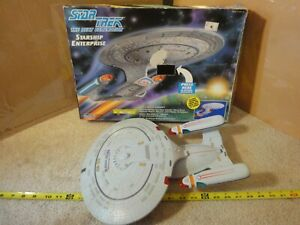 Vintage Playmates Star Trek The Next Generation USS Enterprise electronic model.