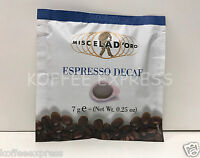 Miscela D'Oro Single Decaf - 2 Boxes x 150 Espresso Pods - 300 pds