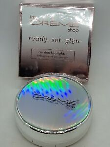 New THE CREME SHOP Ready Set Glow Highlighter Pink Glow Cushion Highlighter