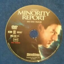 Minority report dvd Disc Only, No Usps Tracking!