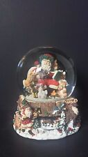 Kirkland Signature Musical Waterglobe W/ Revolving Base-Have yourself a Merry
