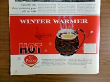 1965 Dr. Pepper Ad   Winter Warmer Hot Dr Pepper Special Offer Cups