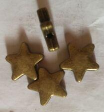 500pcs antiqued bronze tone star spacer beads h3683B