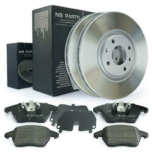 Bremsscheiben belüftet 302mm + Bremsbeläge vorne Peugeot 208 308 I SW 3008