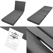 Floor Mattresses Tatami Foam Mat Foam Bed Trifold Folding Ottoman - Dark Gray