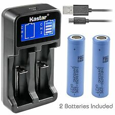 LCD Charger& Samsung 29E Battery for Electric Tools Toys LED Flashlights & Torch