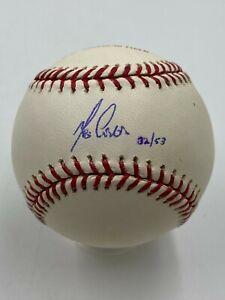 Melky Cabrera Signed Limited /53 Engraved Official Baseball MLB STEINER HOLO