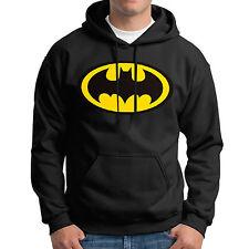 Men Batman Superman Fleece Hoodies Hooded Coat Hoody Sweatshirt Pullover Sweater