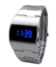 LED Watch Blue Digits