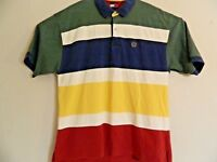 Tommy Hilfiger Mens Multi-Color Horizontal Stripe Polo Golf S/S Shirt XL