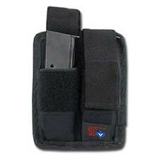NEW ACE CASE DOUBLE PISTOL MAG POUCH - GLOCK 17,19,21,22,23,30,31 MADE IN U.S.A.