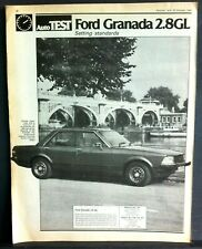FORD GRANADA 2.8GL - 1980 - Road Test removed from Autocar