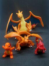 pokemon figures lot chamander Charmeleon Charizard Mega Y 1-3.25 inches each