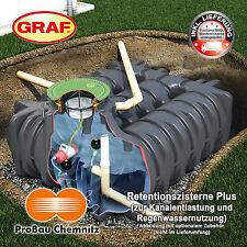 GRAF Retentionszisterne Platin Plus 3000l, inkl. Lieferung, ohne optionales Zub.