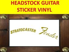 FEND GOLD STRATO HEADSTOCK LEFT HANDED ZURDO VISIT MY STORE CUSTOMIZED GUITAR