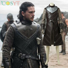 Game of Thrones SE.7 Jon Snow Cosplay Halloween Costumes Lot