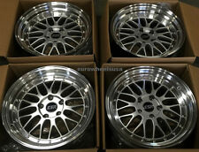 "17"" ESR SR5 Silver Wheels For Toyota Matrix Celica Camry 17x8.5 Inch 5x100 +30"