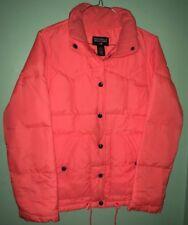 Polo Jeans Company Ralph Lauren Down Nylon Jacket Puffer Orange Mens XS vintage