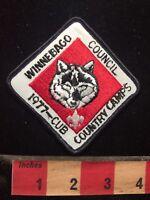 Vtg 1977 Cub Country Camps Winnebago Council Boy Scout Patch 78V7