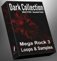 Rock Dark Collection Part 3 Loops Ableton Logic FL Studio Cubase Reason Presonus