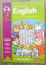 English Educational Book Home Learning Homework Age 5 6 Reading Spelling NEW