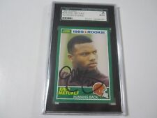 1989 Score ROOKIE #259 signed autographed Eric Metcalf Browns SGC Slabbed