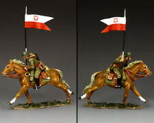 King & Country Fields of Battle FOB159 Polish Cavalry Flag Bearer