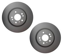 Pair Set of 2 Front Ate Brake Disc Rotors Vented For Mercedes W166 GLE ML 350