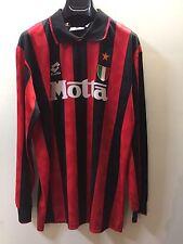 Maglia calcio MILAN 93/94 indossata DESAILLY #8 autografata match worn SIGNED