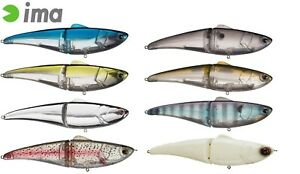 Ima GLIDE FLUKE 178 SWIMBAIT Bass Striper Lure Select Sink Rate l Size l Color