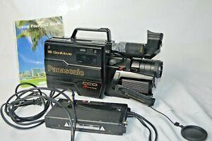 1988 Panasonic Camcorder Omnimovie VHS Recorder PV-300D Recorder Vintage