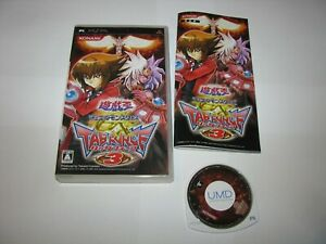 Yu-Gi-Oh Duel Monsters GX Tag Force 3 Yugioh PSP Japan import US Seller