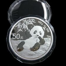 2020 panda 150g silver coin with coa and box